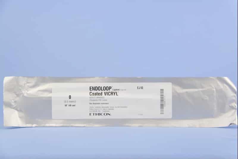 Лигатурная петля для лигирования тканей и формирования интракопорального узла ENDOLOOP