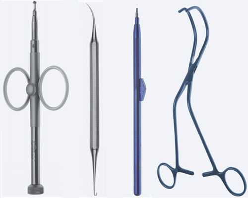 Инструменты для кардиоторакальной и сосудистой хирургии