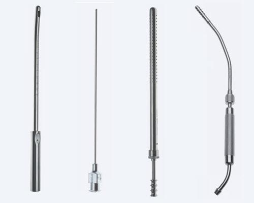 Инструменты для отсасывания, аспирации, ирригации