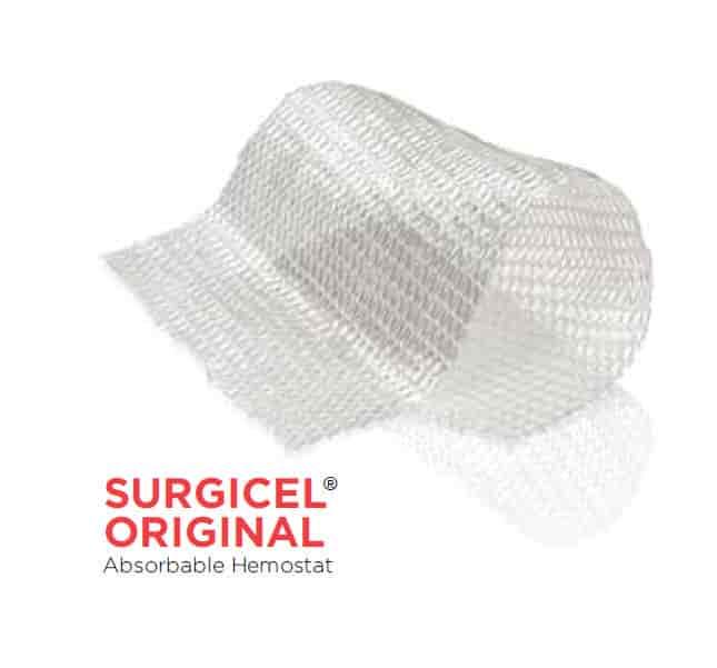 Гемостатики на целлюлозе Surgicel