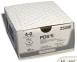 Рассасывающийся шовный материал ПДС II (PDS II) 6/0, длина 45см, обр-реж. игла 8мм Prime, 3/8 окр., фиолетовая нить (W9860H) Ethicon (Этикон) 2