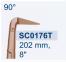 """Ножницы микрохирургические коронарные """"Titanit"""" SC0176T - фото №1"""