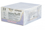 Рассасывающийся шовный материал с антибактериальным покрытием Викрил Плюс (Vicryl Plus) 0, длина 70см, кол. игла 36мм, 1/2 окр., фиолетовая нить (VCP9221H) Ethicon (Этикон) 0