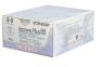 Рассасывающийся шовный материал с антибактериальным покрытием Викрил Плюс (Vicryl Plus) 4/0, длина 70см, кол-реж. игла 17мм, 3/8 окр., неокрашенная нить (VCP240H) Ethicon (Этикон) 0
