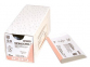 Рассасывающийся шовный материал Монокрил (Monocryl) 3/0, длина 70см, 2 кол. иглы 26мм, 1/2 окр., уплощенный кончик, фиолетовая нить (W3627) Ethicon (Этикон) 0