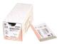 Рассасывающийся шовный материал Монокрил (Monocryl) 4/0, длина 70см, кол. игла 17мм, 1/2 окр., фиолетовая нить (W3435) Ethicon (Этикон) 0