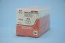 Рассасывающийся шовный материал с антибактериальным покрытием Монокрил Плюс (Monocryl Plus) 3/0, длина 45см, обр-реж. игла 19мм Prime, 3/8 окр., неокрашенная нить (MCP497H) Ethicon (Этикон) 1