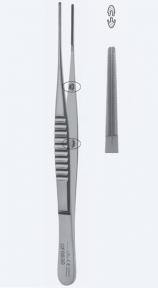 Пинцет атравматический DeBakey (ДеБейки) GF0860