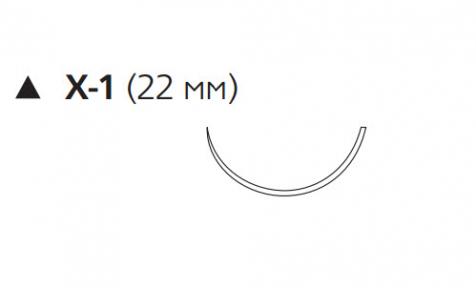 Пролен (Prolene) 3/0, длина 45см, реж. игла 22мм W8731G