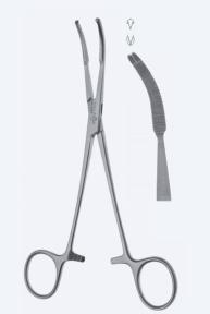 Зажим для брюшины Mikulicz (Микулич) KL4560