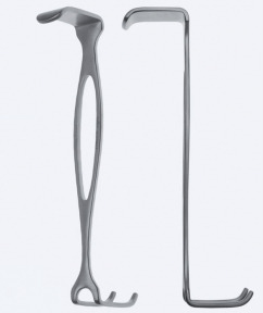 Ретрактор (ранорасширитель) хирургический двусторонний Czerny (Черни) WH0330