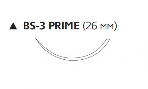 Пролен (Prolene) 3/0, длина 45см, реж. игла 26мм Prime W538