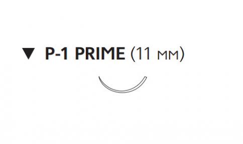 Викрил (Vicryl) 6/0, длина 45см, обр-реж. игла 11мм Prime W9500T