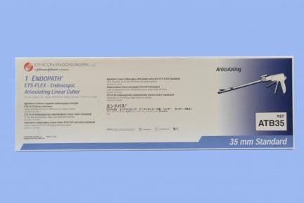 Эндоскопический артикуляционный сшивающе-режущий аппарат ETS Flex с ножом и с кассетой для ткани нормальной толщины (ATB35) Ethicon (Этикон)