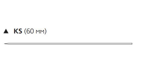 Нерассасывающийся шовный материал Этибонд Эксель (Ethibond Excel) 2/0, длина 75см, реж. игла 60мм KS, прямая, зеленая нить (W623) Ethicon (Этикон)