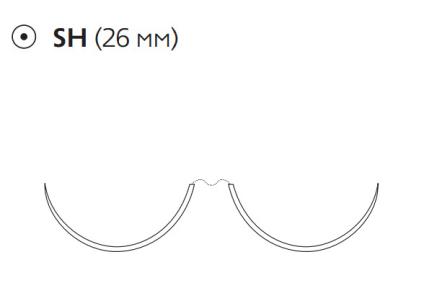 Пролен (Prolene) 3/0, длина 75см, 2 кол. иглы 26мм 8528H