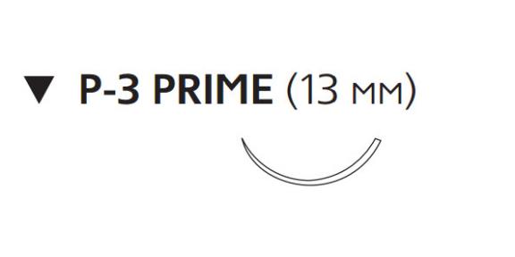 Монокрил (Monocryl) 5/0, длина 45см, обр-реж. игла 13мм Prime W3203