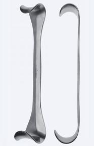 Ретрактор (ранорасширитель) раневой двусторонний Goelet (Голет) WH0101