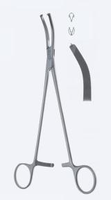 Зажим для гистерэктомии Wertheim (Вертхайм) KL4730