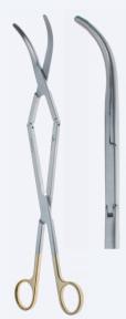"""Ножницы крестообразные для глубоких операций """"Power TC"""" Metzenbaum (Метценбаум) SC4103"""