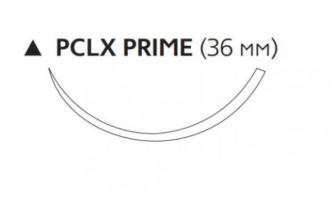 Викрил (Vicryl) 2/0, длина 75см, реж. игла 36мм Prime W9532T