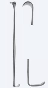 Ретрактор (ранорасширитель) двусторонний раневой Cope (Коуп) WH0147