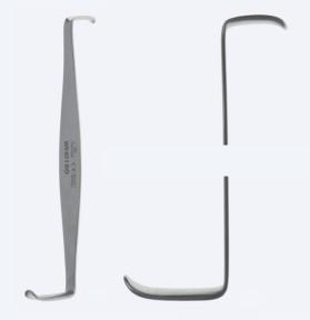 Ретрактор (ранорасширитель) хирургический двусторонний Crile (Крил) WH0160
