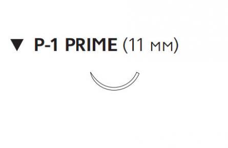 Викрил Рапид (Vicryl Rapide) 5/0, длина 45см, обр-реж. игла 11мм Prime W9915
