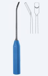 Долото хирургическое полукруглое Dahmen (Дамен) с PPSU-ручкой KN3077-12