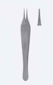 Пинцет микро анатомический Adson (Адсон) PZ0551