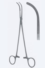Зажим диссекционный Cross-Overholt (Кросс-Оверхолт) KL4185-5