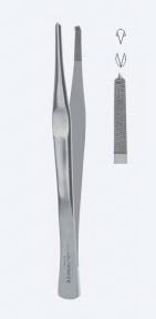 Пинцет хирургический Lane (Лейн) PZ1419