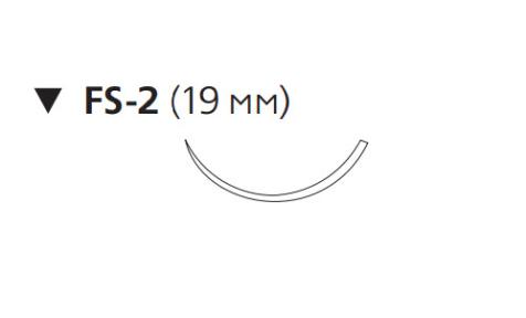 Монокрил Плюс (Monocryl Plus) 5/0, длина 70см, обр-реж. игла 19мм MCP3209G
