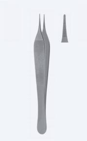 Пинцет микро анатомический Adson (Адсон) PZ0550