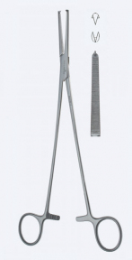 Зажим для гистерэктомии Holzbach (Хольцбах) KL4740