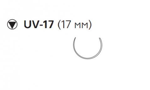 Викрил Рапид (Vicryl Rapide) 4/0, длина 75см, кол-реж. игла 17мм W9928
