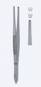 Пинцет хирургический USA Modell (Модель США) PZ1158