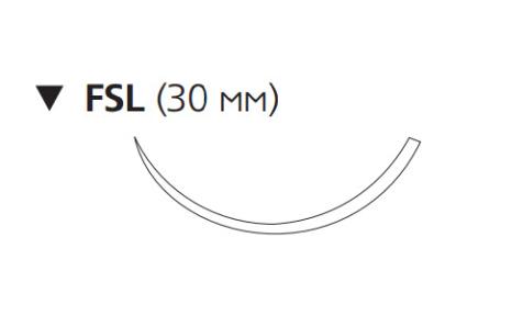 Этилон (Ethilon) 3/0, длина 75см, обр-реж. игла 30мм EH7939H