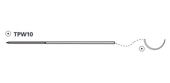 Электрод для временной кардиостимуляции M3 (2/0) 60см - 2 иглы Ethicon (Этикон)