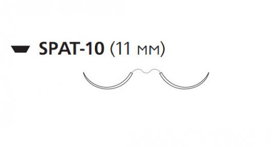 Викрил (Vicryl) 5/0, длина 45см, 2 шпательные иглы 11мм W9761