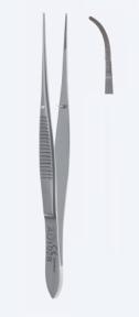 Пинцет анатомический для иридэктомии Graefe (Грефе) AU1032