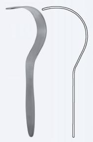 Ретрактор (расширитель) Deaver (Дивер) WH2520