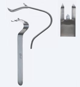 Ретрактор (расширитель) для подбородка Obwegeser (Обвегесер) MF0290