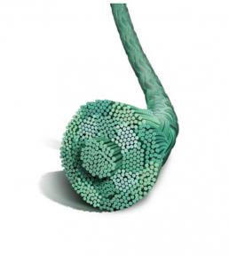 Нерассасывающийся шовный материал Этибонд Эксель (Ethibond Excel) 0, 13шт. по 60см, без иглы, зеленая нить (W6234) Ethicon (Этикон)