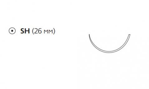 Этибонд Эксель (Ethibond Excel) 3/0, длина 75см, кол. игла 26мм W6832