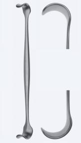 Ретрактор (ранорасширитель) хирургический двусторонний WH0860