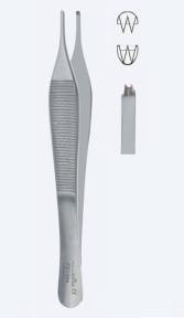 Пинцет хирургический Adson-Ewald (Адсон-Ивальд) PZ1068