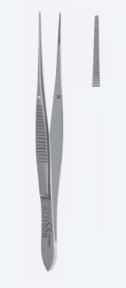 Пинцет анатомический для иридэктомии Graefe (Грефе) AU1034