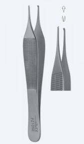Пинцет микро хирургический Adson-Biemer (Адсон-Бимер) PZ1050