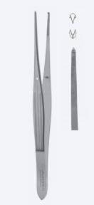 Пинцет хирургический McIndoe (МакИндо) PZ1470